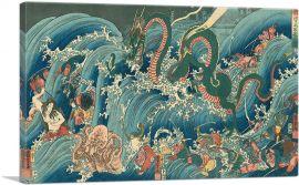 Tamatori-Hime at the Dragon Palace