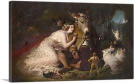Scene from A Midsummer Night's Dream 1851