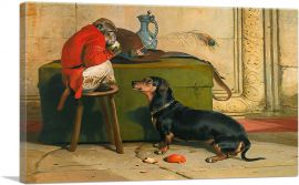 Ziva - A Badger Dog Belonging to the Hereditary Prince 1840