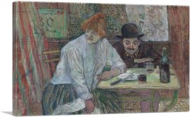 At the Cafe La Mie 1891