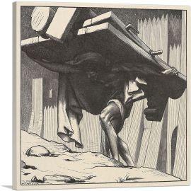 Samson Carrying the Gates 1881