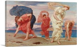 Greek Girls Picking up Pebbles by the Sea 1871