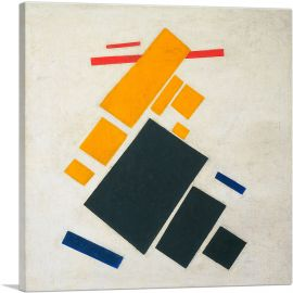 Suprematist Composition Airplane Flying 1915