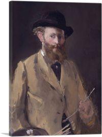 Self-Portrait with Palette 1879