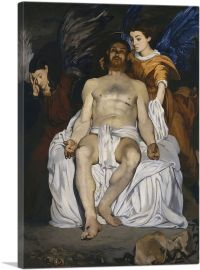 The Dead Christ with Angels 1864