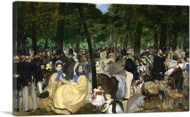 Music in the Tuileries Garden 1862