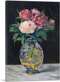 Bouquet Of Flowers - Bouquet De Pivoines 1882