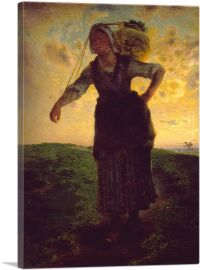 A Norman Milkmaid at Greville 1871