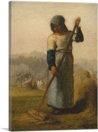 Woman with a Rake 1857