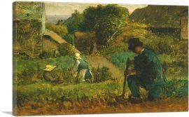 Garden Scene 1854
