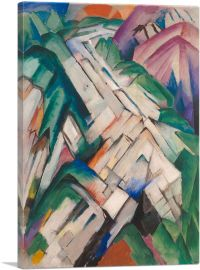 Stony Path - Mountains and Landscape 1912