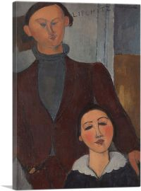Jacques and Berthe Lipchitz 1917