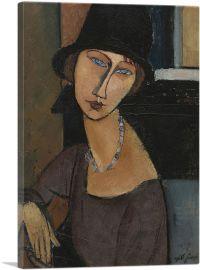 Jeanne Hebuterne with Hat 1917
