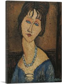 Portrait of Jeanne Hebuterne 1917