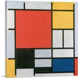Composition in Red, Yellow, Blue and Black 1921