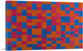 Checker Board Composition with Dark Colours 1919