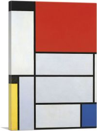 Composition with Red Square Lithograph in Colours 1921