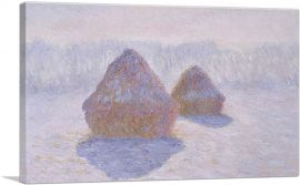 Haystacks - Effect of Snow and Sun 1891
