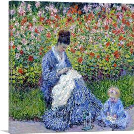 Madame Monet-and Child