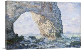 The Manneport, Rock Arch West Of Etretat 1883