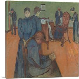 Death in The Sickroom 1893