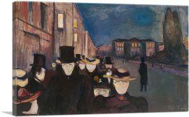 Evening on Karl Johan Street 1892