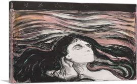 Lovers in the Waves 1896