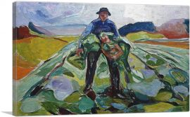 Man in the Cabbage Field 1916