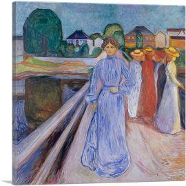 Women on the Bridge 1902