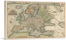 Map of Europe 1581