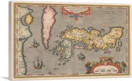 Map of Japan and Korea 1592 (2)