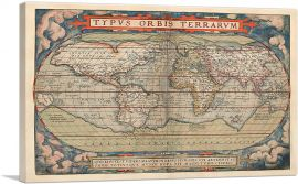 Ortelius World Map 1570
