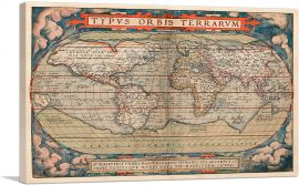 World Map 1579