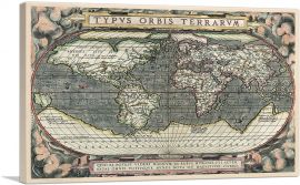 World Map 1588