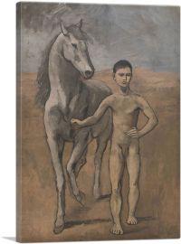 Boy Leading a Horse 1905