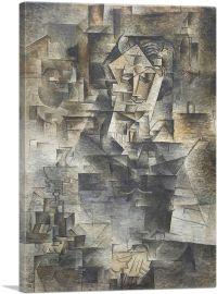 Portrait of Daniel-Henry Kahnweiler 1910