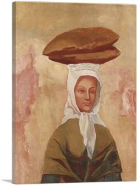 Woman with Loaves 1906