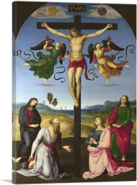The Crucified Christ with the Virgin Mary, Saints and Angels 1503