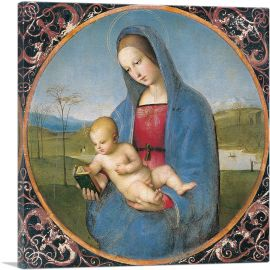 The Madonna Conestabile - Madonna with Child 1502