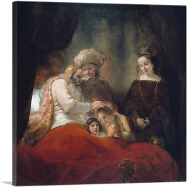 Jacob Blessing the Sons of Joseph 1656