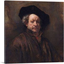 Rembrandt Self-Portrait 1660