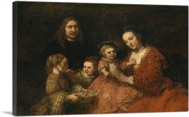 Rembrandt's The Family Portrait 1665