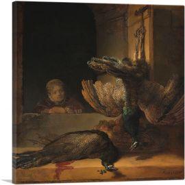 Still Life with Peacocks 1639