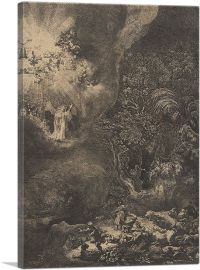 The Angel Appearing to the Shepherds 1634