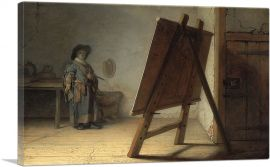 The Artist in his Studio 1628