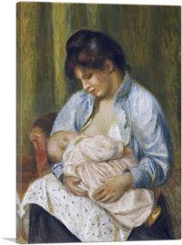 A Woman Nursing a Child 1894