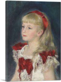 Mademoiselle Grimprel au Ruban Rouge 1880