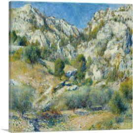 Rocky Crags at L'Estaque 1882