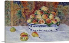 Still Life with Peaches 1881