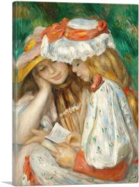 Two Girls Reading 1891